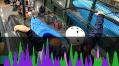 New Sport: White Escalator Kayaking? #DudePerfect