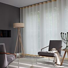 Get inspired by Luxflex window decoration. Stores Californiens