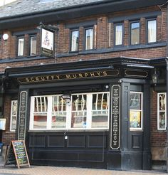 Scruffy Murphy's Irish Pub in Blackpool. Drainage Channel, British Pub, Irish Sea, Pub Food, Pub Signs, Pub Crawl, Blackpool, My Happy Place, England