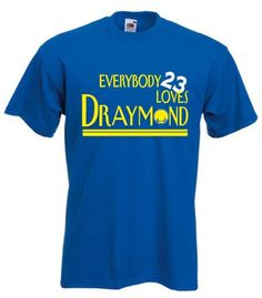 "Draymond Green Golden State Warriors ""Everybody Loves"" T-Shirt ADULT 2XL"