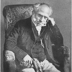 """Arthur Schopenhauer (1788 – 1860) was a German philosopher best known for his book, The World as Will and Representation, in which he claimed that our world is driven by a continually dissatisfied will, continually seeking satisfaction. Influenced by Eastern thought, he maintained that the """"truth was recognized by the sages of India""""; consequently, his solutions to suffering were similar to those of Vedantic and Buddhist thinkers."""