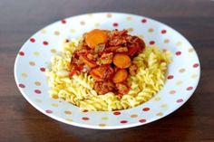Fotorecept: Fusilli s grilovanou zeleninou a opekanou strúhankou Fusilli, Ale, Ethnic Recipes, Food, Ale Beer, Essen, Meals, Yemek, Eten