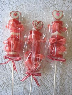 Cake Pop Candy Kabobs for your Valentine {from Freshly Baked}
