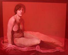 Rot, olio su tela, 80 x 100 cm