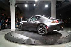 Mazda unveils the MX-5 RF, a Miata with a gorgeous targa top | The Verge