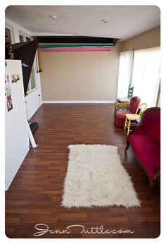 Home / Small Studio Idea   Love the backdrops and 1 OCF