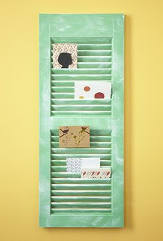 12 Simple and Functional Ways to Repurpose Shutters – P&G everyday   Home & Garden   P&G Everyday