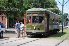 Streetcar, New Orleans, Louisiana, USA May 2012