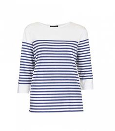 How To Wear Striped Shirts For Fall via @WhoWhatWear