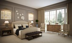 Bedroom Athena. Classic and elegance.