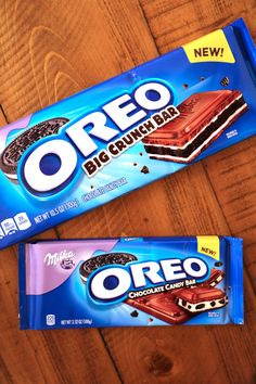 Oreo and This Chocolate Enterprise Release the Best Candy Collaboration But Weird Oreo Flavors, Cute Food, Yummy Food, Milka Chocolate, Junk Food Snacks, Christmas Deserts, Chocolate Company, Easy Homemade Recipes, Sour Candy