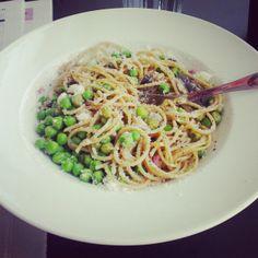 Toimistolounas: hernepasta » 52 Weeks of Deliciousness