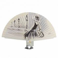 Fan Decoration, Hand Fans, Retro, Alonso, Ivory, Ideas, Painted Fan, Umbrellas, Lanterns