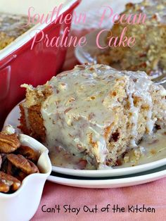Butter praline cake recipe