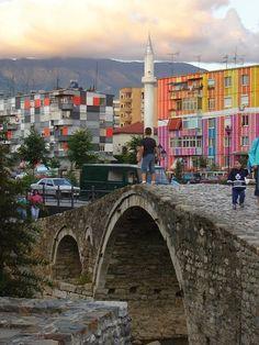 I know those buildings! Tirana, Albania