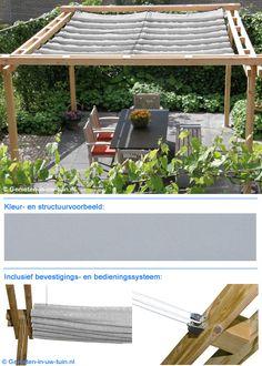 Porch Shades, Gazebos, Timber Roof, Outdoor Life, Outdoor Decor, Outdoor Shelters, Pergola Designs, Colorful Garden, Natural Stones