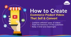 Creating an effective product video is very important as it helps to convince your customers to buy your product. Learn how to create effective product videos in the article below. #Ecommerce_Product_Videos #CodeClouds