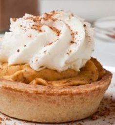 Apple Cider and Caramel Silk Mini Pies