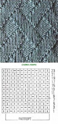 New Crochet Stitches Tutorial Basic 20 Ideas Knitting Basics, Knitting Stiches, Knitting Charts, Lace Knitting, Knitting Socks, Knitting Patterns Free, Crochet Stitches, Crochet Patterns, Crochet Braid Pattern