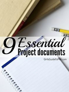 Streamline your paperwork in the office - check out the 9 essential documents for managing any project.