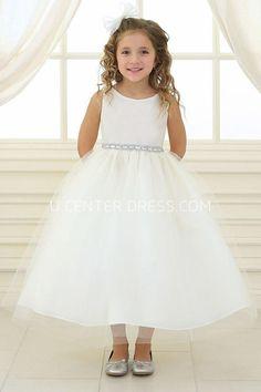 Sale $55.31-Beaded Tulle&Satin White Flower Girl Dress. http://www.ucenterdress.com/beaded-tulle&satin-flower-girl-dress-pMK_401459.html. Shop for best flower girl dress, baby girl dress, girl party dress, gowns for girls, dresses for girl, children dresses, junior dress, pageant dresses for girls We have great 2016 fall Flower Girl Dresses on sale. Buy Flower Girl Dresses online at UcenterDress.com today! #flowergirldress