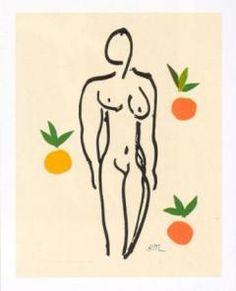 Henri Matisse Nu aux oranges, 1953