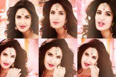 Beautiful Katrina Kaif, #Jewelry Maang Tikka, Bali, Haath Phool...