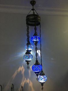 TURKISH MOSAIC LAMP, CHANDELIER IN 5 GLOBES Dimensions: 47 inches in height and 10 inches wide Globe Sizes: inches weight: 7 pound it does not come with the bulb. it requires bulb, led bulb is recomended. Turkish Lanterns, Turkish Lights, Turkish Lamps, Turkish Decor, Shabby Chic Lamps, Rustic Lamps, Moroccan Lighting, Moroccan Lamp, Best Desk Lamp