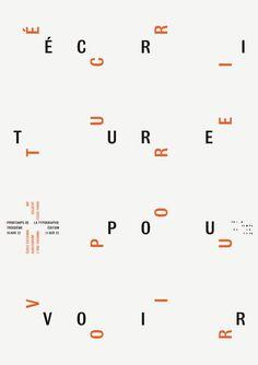 Les Formes Vives, Troisième édition du Printemps de la typo, 2012
