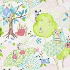 Prestigious Textiles Forest Friends Woodland Friends Fabric Collection 5872/204
