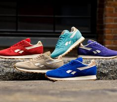 """Reebok Classic Leather """"Summer Suede"""" Pack (Summer 2014)"""