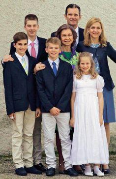 Así fueron las comuniones de los primos de la princesa Leonor - Foto 9