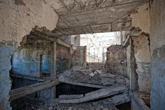 ruined buildings inside - Google Search