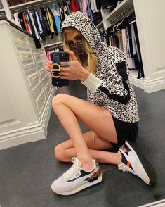 """Cara Delevingne on Instagram: """"Will be wearing all 🐆 until further notice... (Kicks are @puma Future Rider Wild Cats)"""" Most Beautiful, Beautiful Women, Cara Delevingne, Female Models, Supermodels, Catwalk, Kicks, Photo And Video, Instagram Posts"""