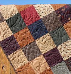 Traditional Kansas Troubles Quilt ..i love quilts and this one is lovely