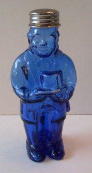 Vintage Cobalt Blue Butler Shaker  by TheWAREHOUSEShelf on Etsy, $18.95