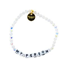 Grey's Anatomy is officially back this season! Get your bestie her future favorite Little Word - www.littlewordsproject.com