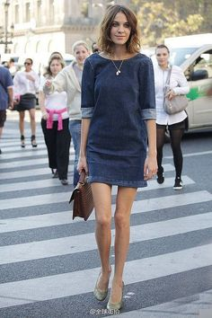 Casual And Semi Formal Fashion Style From Alexa Chung 1