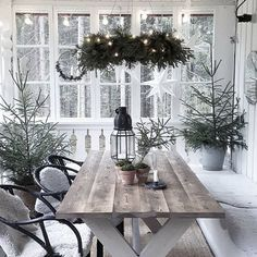 Lördag och första advent står inför dörren. Julfint hos @hultberg75 🌲 . . #trädgårdsliv #trädgårdsinspiration #trädgårdsinspo… Home Decor Shops, Online Home Decor Stores, Porches, Wholesale Home Decor, Noel Christmas, Scandinavian Home, Decorating On A Budget, Home Decor Furniture, Unique Home Decor