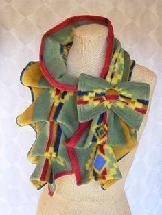 ШАРФ-ЖАБО СВОИМИ РУКАМИ.Для того чтобы пошить такой шарф-жабо вам необходим отрез ткани 115-120 см ... - 7