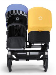 The new Bugaboo summer shades are a great way to make that stroller look new again. (And love the stripes underneath!)