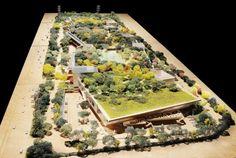 フランク・ゲーリーが設計を進めているFacebookの新社屋の新しい模型写真