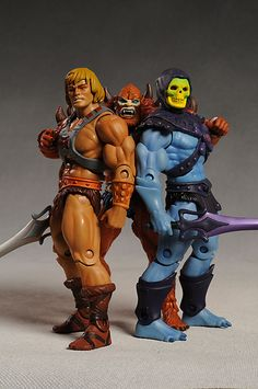 Masters of the Universe! Ahhhh I miss my Castle Grayskull