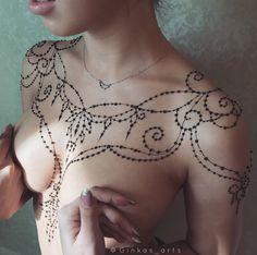 Ginkas Arts Erotic Henna/Mehndi Tattoo #ginkas_arts #ginkas_erotic #mehndi #henna #erotic #tattoo #sexy #hothenna #art #bodyart #bodypainting