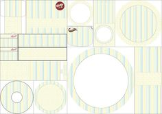Stripes and Stars: Free Printable Candy Bar Labels.
