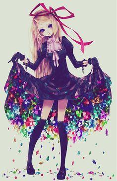 Beautiful - Anime girl