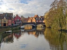 Fye Bridge (by Gerry Balding)  Norwich, England