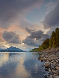 Loch Laggan near Fort William,Scotland