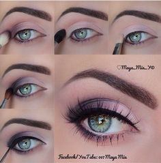 nice 20 Easy Purple Smokey Eye Makeup Tutorial Check more at www.ciaobellabody… nice 20 Easy Purple Smokey Eye Makeup Tutorial Check more at www. Simple Eye Makeup, Eye Makeup Tips, Cute Makeup, Beauty Makeup, Makeup Looks, Diy Makeup, Makeup Products, Beauty Products, Teen Makeup