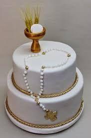 Resultado de imagen para tortas primera comunion varon